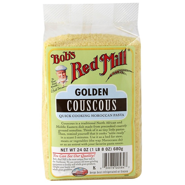 Bob's Red Mill, Golden Couscous, 24 oz (680 g)