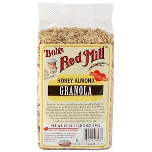 Bob's Red Mill, ハニーアーモンドグラノーラ, 18 oz (510 g)