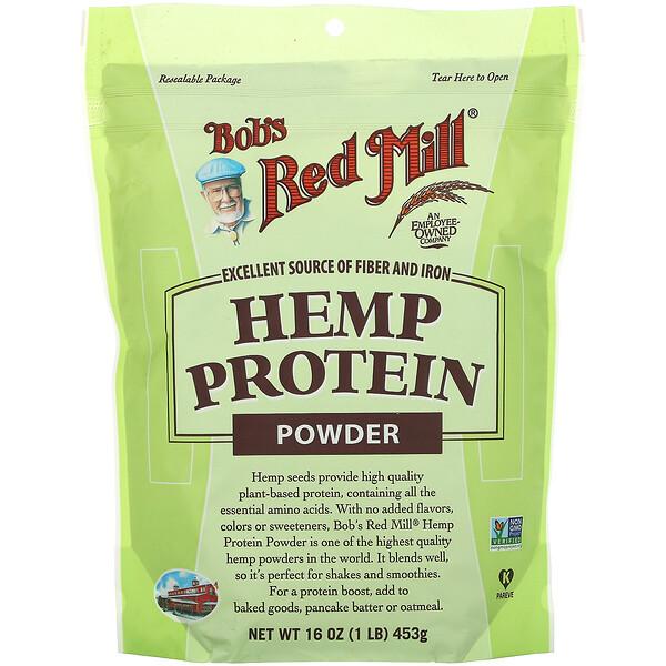 Hemp Protein Powder, 16 oz (453 g)