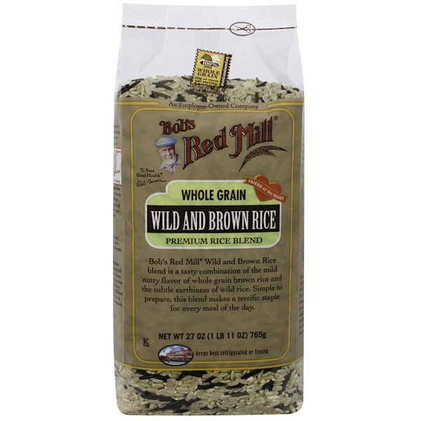 Bob's Red Mill, Wild and Brown Rice, Whole Grain, 27 oz (765 g) (Discontinued Item)