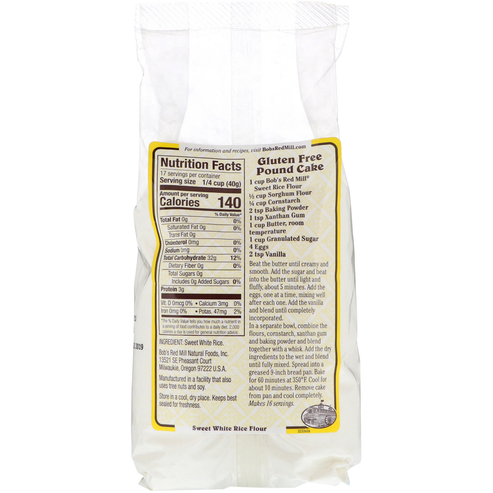 Bob's Red Mill, Sweet White Rice Flour, 24 oz (680 g) - iHerb