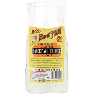Bob's Red Mill, Sweet White Rice Flour, 24 oz (680 g)