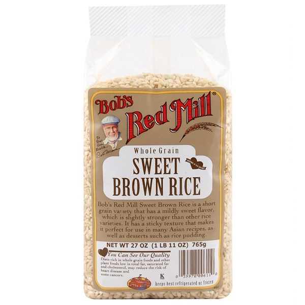 Bob's Red Mill, Sweet Brown Rice, 27 oz (765 g) (Discontinued Item)