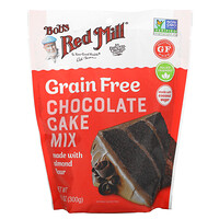 Bob's Red Mill, Chocolate Cake Mix, Made with Almond Flour, Grain Free, 10.5 oz (300 g)
