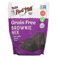 Bob's Red Mill, Brownie Mix, Made with Almond Flour, Grain Free, 12 oz (340 g)