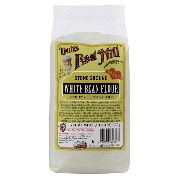 Bob's Red Mill, White Bean Flour, 24 oz (680 g) (Discontinued Item)