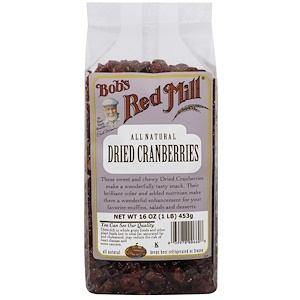 Бобс Рэд Милл, Dried Cranberries, 16 oz (453 g) отзывы