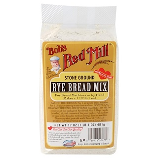 Bob's Red Mill, Rye Bread Mix, 17 oz (481 g)