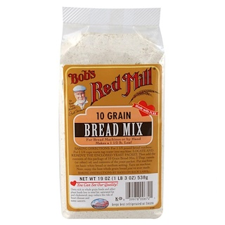Bob's Red Mill, 10 Grain, Bread Mix, 19 oz (538 g)