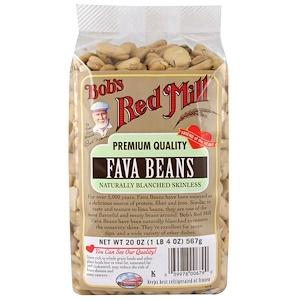 Бобс Рэд Милл, Fava Beans, Naturally Blanched Skinless, 20 oz (567 g) отзывы покупателей