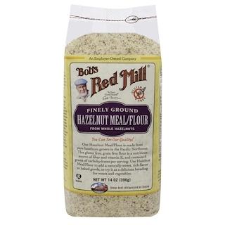 Bob's Red Mill, ヘーゼルナッツ・ミール/フラワー、14オンス (396 g)