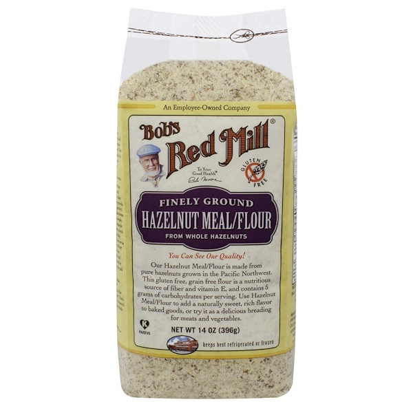 Bob's Red Mill, Farine de noisette, 14 oz (396 g) (Discontinued Item)