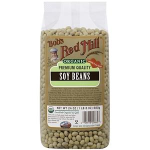 Бобс Рэд Милл, Organic Soy Beans, 24 oz (680 g) отзывы покупателей