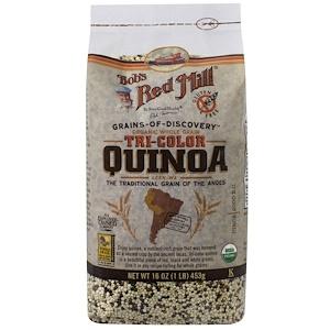 Бобс Рэд Милл, Organic Whole Grain Tri-Color Quinoa, 16 oz (453 g) отзывы покупателей