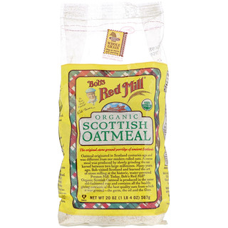Bob's Red Mill, Organic Scottish Oatmeal, 20 oz (567 g)