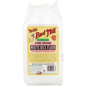 Бобс Рэд Милл, Organic White Rice Flour, 24 oz (680 g) отзывы покупателей