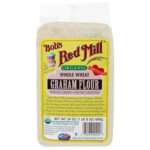 Бобс Рэд Милл, Organic Whole Wheat Graham Flour, 24 oz (680 g) отзывы