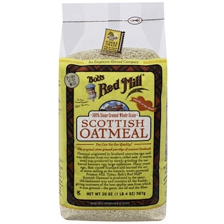 Bob's Red Mill, Scottish Oatmeal, 20 oz (566 g)