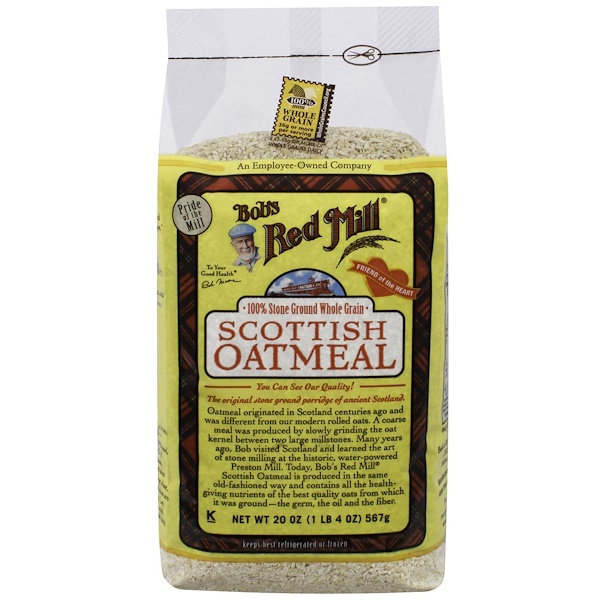 Bob's Red Mill, Scottish Oatmeal, 20 oz (566 g) (Discontinued Item)