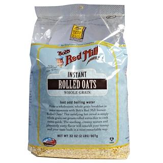 Bob's Red Mill, Овсяные хлопья быстрого приготовления, 32 унции (907 г)
