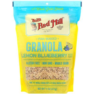 Bob's Red Mill Печеная гранола, лимон и голубика, 312г (11унций)  - купить со скидкой