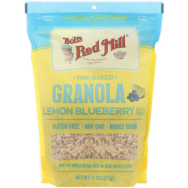 Pan-Baked Granola, Lemon Blueberry, 11 oz (312 g)