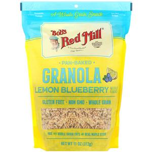 Бобс Рэд Милл, Pan-Baked Granola, Lemon Blueberry, 11 oz (312 g) отзывы покупателей