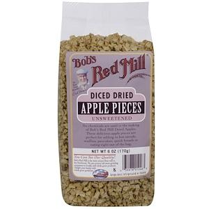 Бобс Рэд Милл, Diced Dried Apple Pieces, Unsweetened, 6 oz (170 g) отзывы