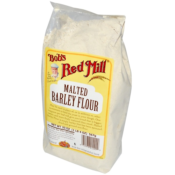 Bob's Red Mill, Malted Barley Flour, 20 oz (567 g) (Discontinued Item)