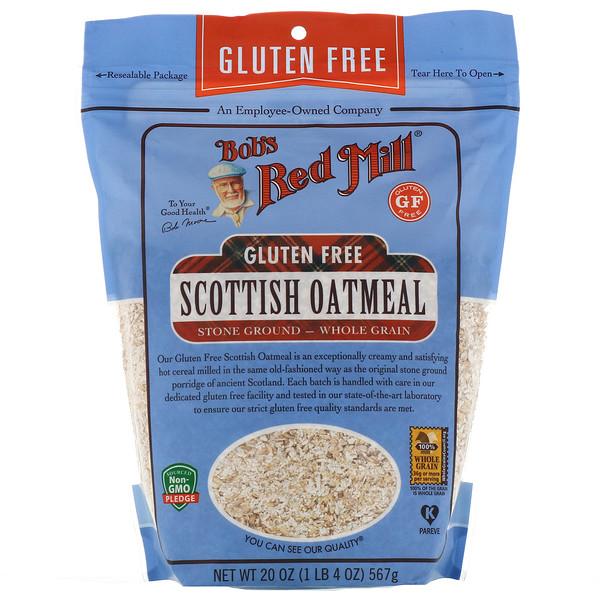 Scottish Oatmeal, Whole Grain, Gluten Free, 20 oz (567 g)