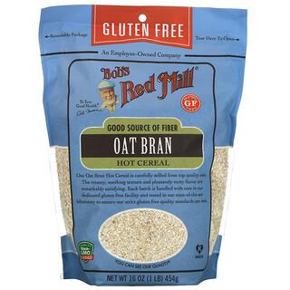 Bob's Red Mill, Oat Bran Hot Cereal, Gluten Free, 16 oz (454 g)