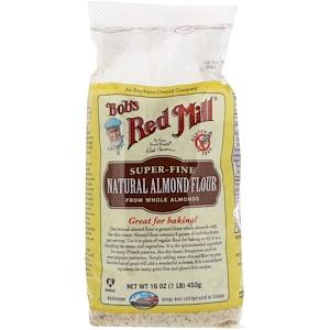 Бобс Рэд Милл, Natural Almond Flour, Super Fine, 16 oz (453 g) отзывы покупателей