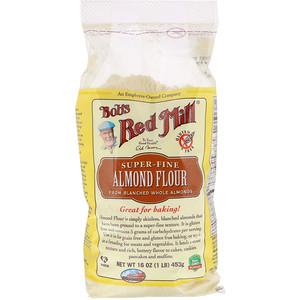 Бобс Рэд Милл, Super-Fine Almond Flour, Gluten-Free, 16 oz (453 g) отзывы покупателей
