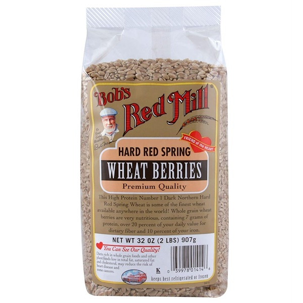 Bob's Red Mill, Hard Red Spring Wheat Berries, 32 oz (907 g) (Discontinued Item)