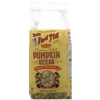 Bob's Red Mill, Premium Shelled Pumpkin Seeds, 16 oz (453 g)