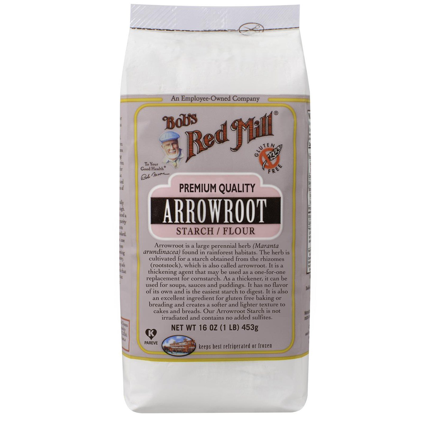 Red Mill, Arrowroot Starch / Flour