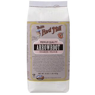 Bob's Red Mill, Arrowroot Starch / Flour                            , 16 oz (453 g)