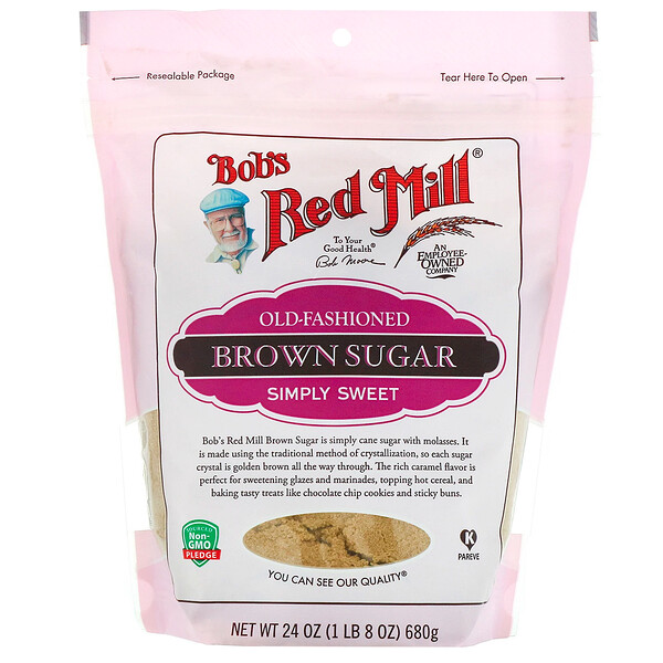 Bob's Red Mill, Old-Fashioned Brown Sugar, 24 oz (680 g)