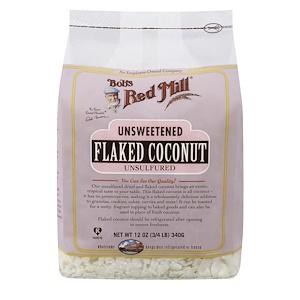 Бобс Рэд Милл, Flaked Coconut, Unsweetened, 12 oz (340 g) отзывы