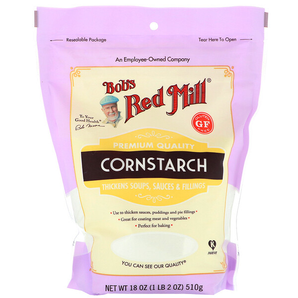 Bob's Red Mill, Cornstarch, Gluten Free, 18 oz (510 g)