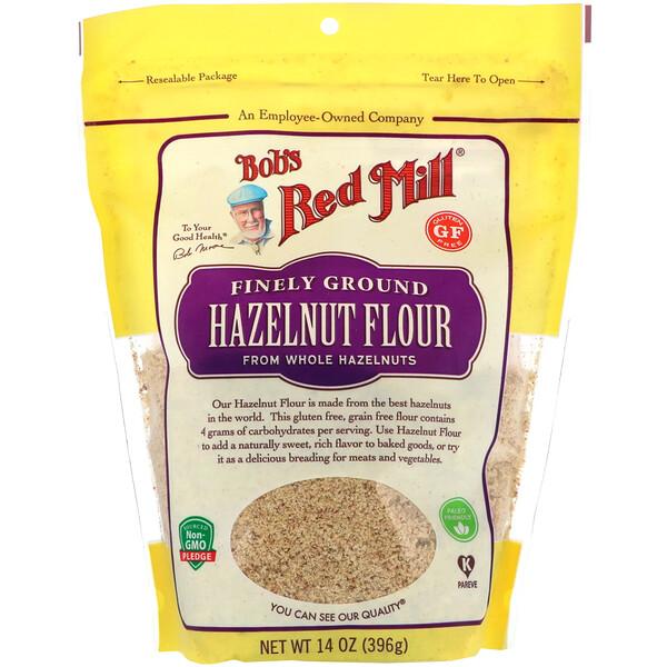 Finely Ground Hazelnut Flour, Gluten Free, 14 oz (396 g)