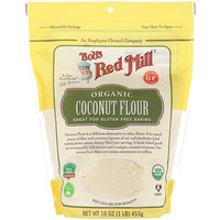 Bob's Red Mill, Organic Coconut Flour, Gluten Free, 16 oz (453 g)
