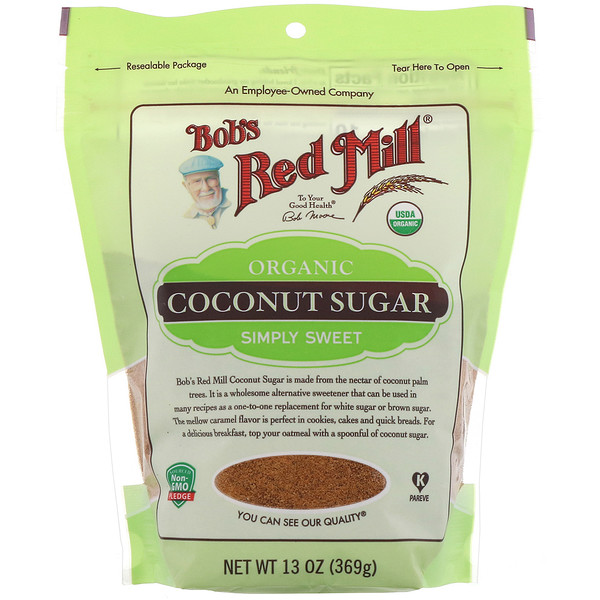 Bob's Red Mill, Organic Coconut Sugar, 13 oz (369 g)