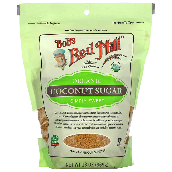 Organic, Coconut Sugar, 13 oz (369 g)