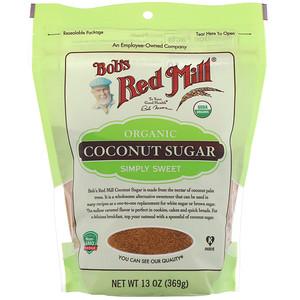 Бобс Рэд Милл, Organic Coconut Sugar, 13 oz (369 g) отзывы