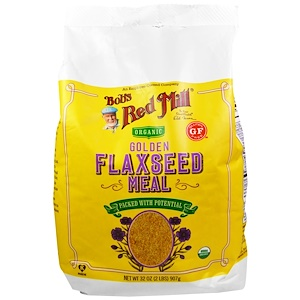 Бобс Рэд Милл, Organic, Golden Flaxseed Meal, 32 oz (907 g) отзывы покупателей