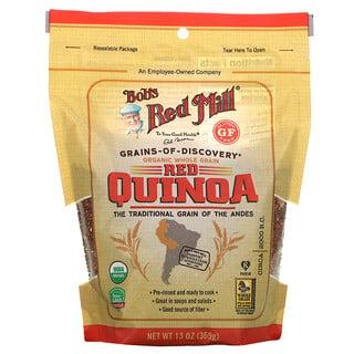 Bob's Red Mill, Organic Red Quinoa, Whole Grain, 13 oz (369 g)