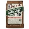 Bob's Red Mill, Organic Whole Wheat Flour, 48 oz (1.36 kg) (Discontinued Item)
