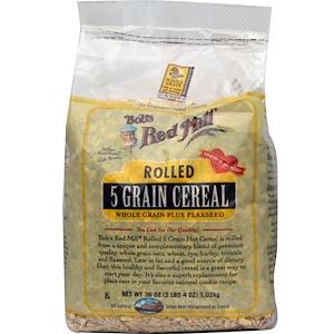 Бобс Рэд Милл, Rolled 5 Grain Cereal, 36 oz (1.02 kg) отзывы покупателей