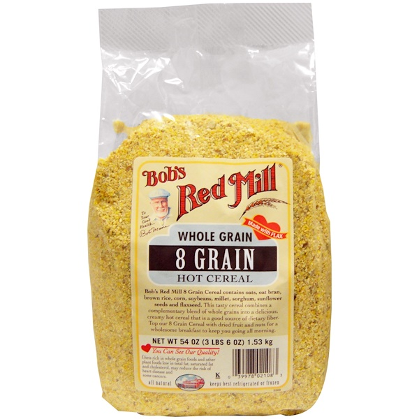 Bob's Red Mill, 8 Grain Hot Cereal, 54 oz (1.53 kg) (Discontinued Item)